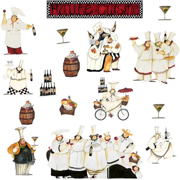 135 best fat chefs is what i collect images on pinterest on wall stickers for kitchen id=15713