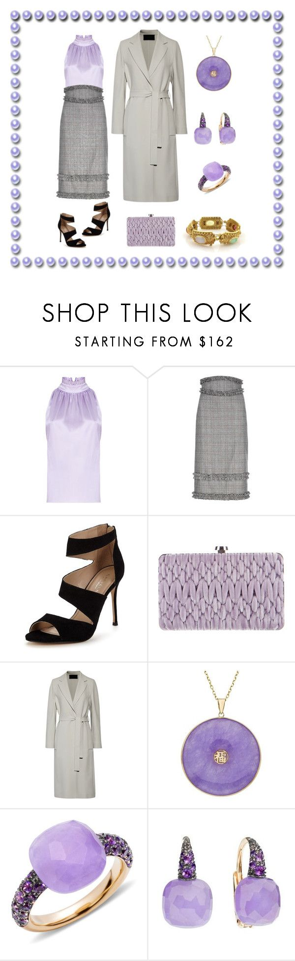 """""""Easter Outfit II"""" by karen-galves on Polyvore featuring Carvela, Miu Miu, Calvin Klein Collection and Pomellato"""