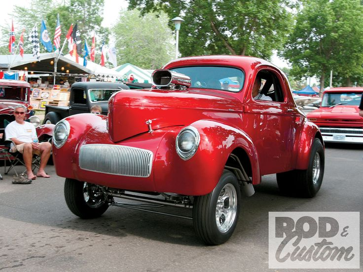 custom show cars | 36Th Msra Car Show 1940 Willys Photo 19 ...