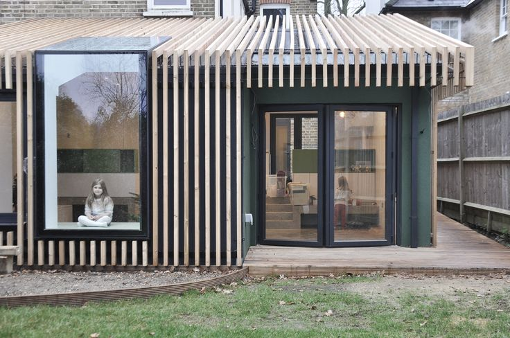 Modern Glass Cube Extension of Victorian Terraced House DigsDigs - Combien Coute Une Extension De Maison