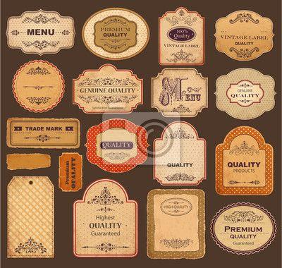 etiquetas para frascos