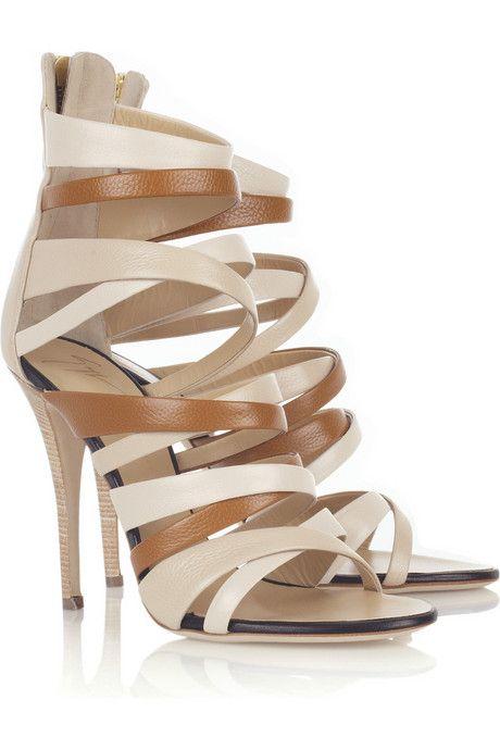 Giuseppe Zanotti Multi-strap leather sandals
