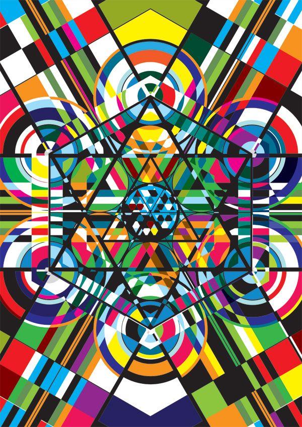 Karim Rashid Designers Voyce polychromatic