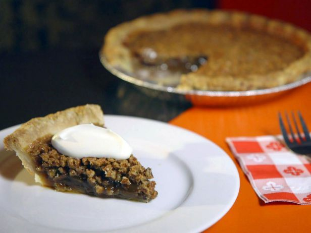 "... pecan pie."" It's built on top of an all-butter crust and served ..."