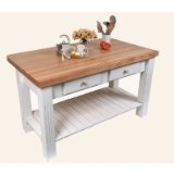 7 best High End Kitchen Carts and Islands images on Pinterest Kitchen carts, Butcher blocks ...