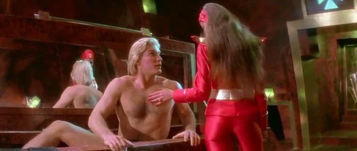 Flash Gordon (1980) -  Ornella Muti & Sam J Jones sexy time :) via: Yellowmenace
