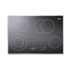 Omega 80cm Cooktop Electric
