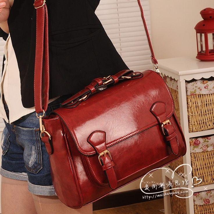 2013 donne borsa coreano'primavera moda antico vintage valigetta vino croce rossa- corpo delle donne messenger bag di spedizione gratis