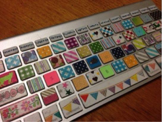 パソコンのキーボードに使う
