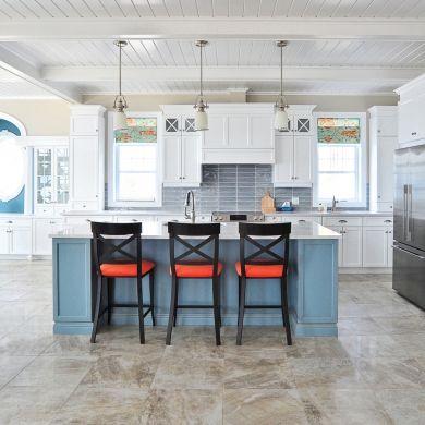 Esprit bord de mer - Cuisine - Inspirations - Décoration et rénovation - Pratico Pratique