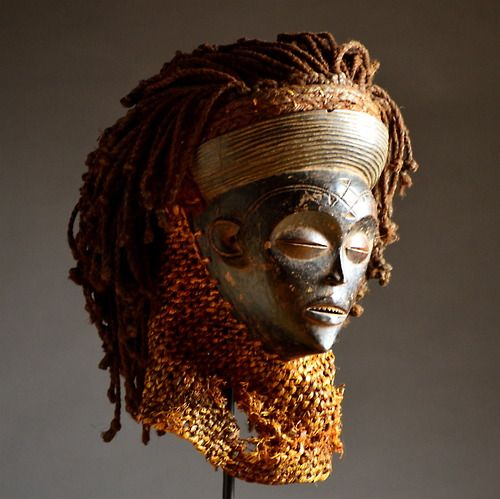 african chokwe masks Additional information: this chokwe mwana pwo mask is carved with great  attention to detail in defining exquisite facial features, the typical cruciform  chokwe.