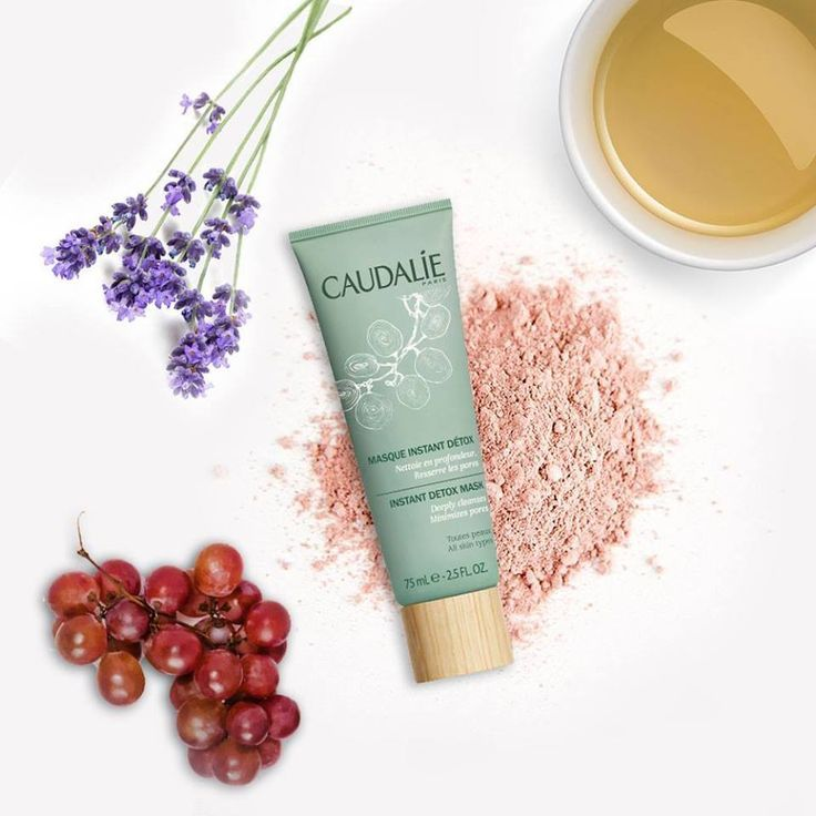 Caudalie Instant Detox Mask // A beautiful mask that actually works, minimizes pores + redness, and is great for sensitive skin! Love.