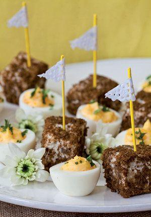 Gevulde eiers & Biltongbroodjies | Party food | YourParenting