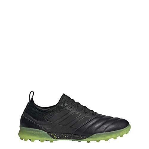 2803aebe3e844 adidas Copa 19.1 Turf Shoe - Men's Soccer Core Black/Solar Yellow ...