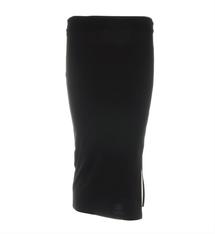 Object uni rok model Faint. Deze rok is voorzien van een split in de zij naad.