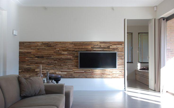 sloophouten muren | Woonideeën: Stoere muren