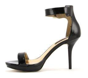 Blink 801924 zwarte sandalen met hak