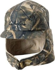 duck hunting hat | ... Cabelas Waterproof Waxed Camo MAX 4 Duck Deer Hunting Hat Cap Size M