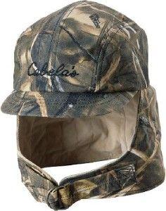 duck hunting hat   ... Cabelas Waterproof Waxed Camo MAX 4 Duck Deer Hunting Hat Cap Size M