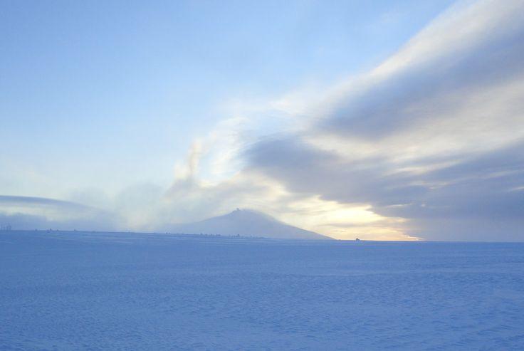 Przepiekne górskie widoki. Na Śnieżke zimą! www.pro-sport.net.pl