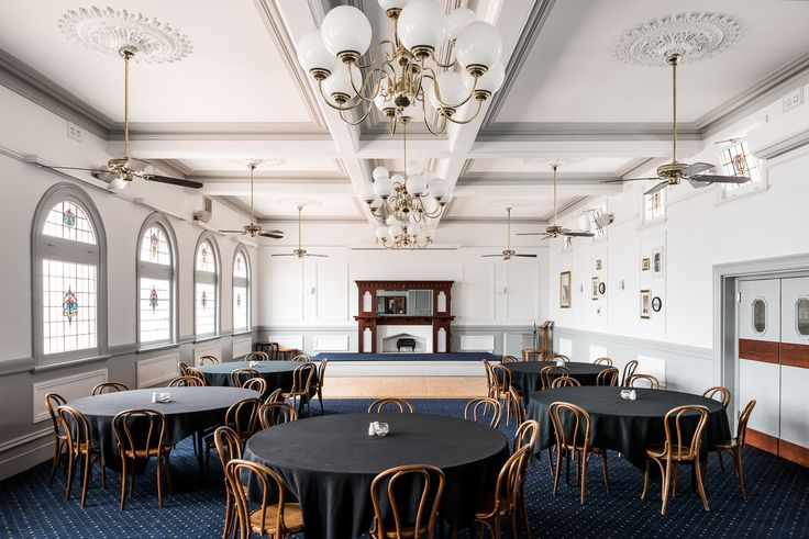 Hospitality Design by Benson Studio. Function Room at the Historic Rose Hotel in Western Australia