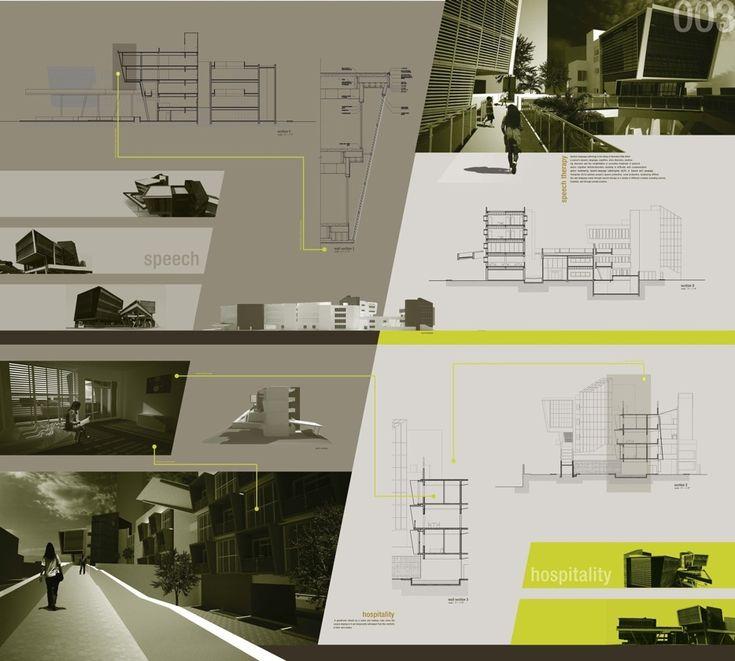 75 besten presentation board design bilder auf pinterest | google, Innenarchitektur ideen
