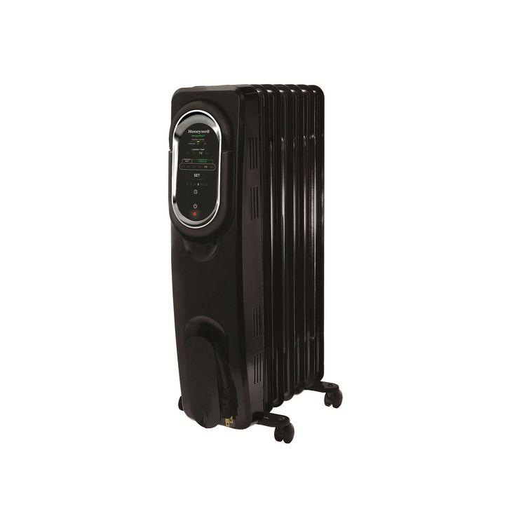 Honeywell EnergySmart Electric Radiator, Black
