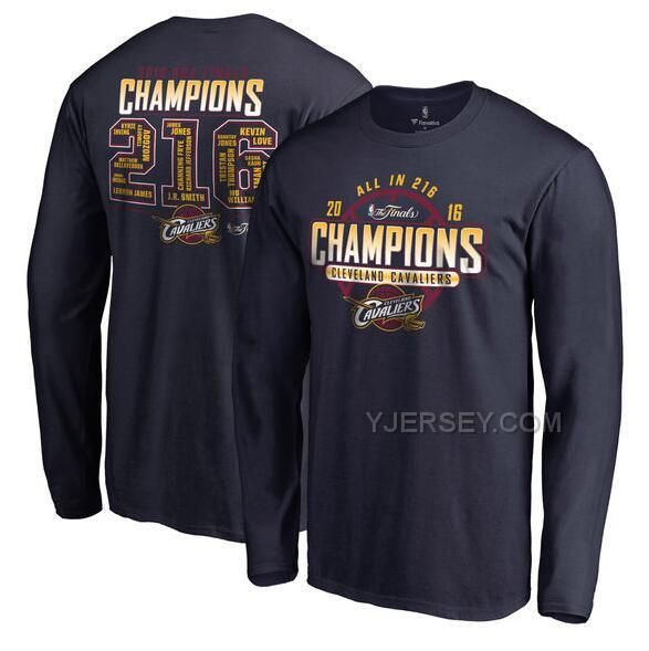 http://www.yjersey.com/mens-cleveland-cavaliers-navy-2016-nba-finals-champions-roster-long-sleeve-tshirt.html MEN'S CLEVELAND CAVALIERS NAVY 2016 NBA FINALS CHAMPIONS ROSTER LONG SLEEVE T-SHIRT Only 30.00€ , Free Shipping!