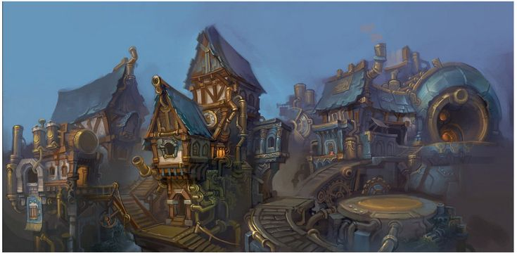 Me and Ben Thompson painted this for the Hearthstone beta announcement