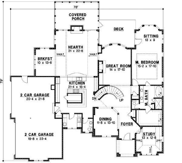 Mediterranean Style House Plans 6615 Square Foot Home