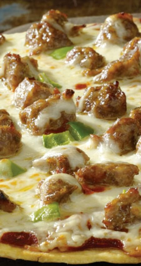Easy Sausage Pizza Recipe