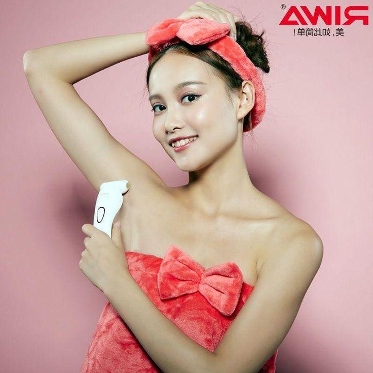 [Visit to Buy] Riwa Rechargeable Lady's Beauty Trimmr Epilator Women Shaver Electric Shaving Epilator For lady female Waterproof Bikini Shaver  #Advertisement