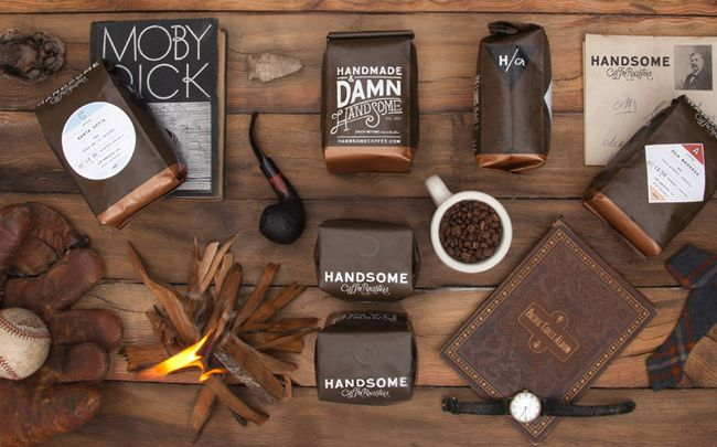 Handsome Coffee Roasters – Visual Identity Design by PTARMAK / #CI #Design #Packaging