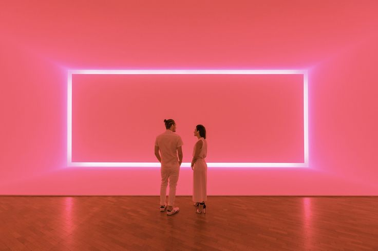 James Turrell Light Exhibition at Canberra National Art Gallery