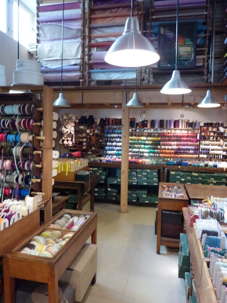 I have very fond memories of my mum taking me to all the local haberdashery shops when she was running her own fashion business - even if I didn't enjoy it at the time!