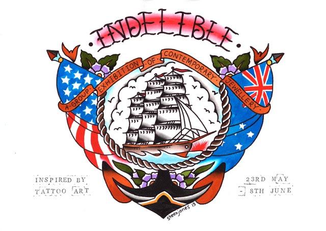 Indelible logo by Steen Jones