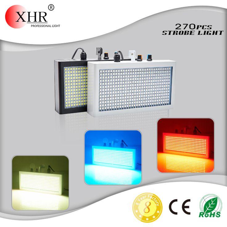 Mini RGB Led Strobe Light 270pcs Sound Auto Control Mini Strobe Light For Night Club