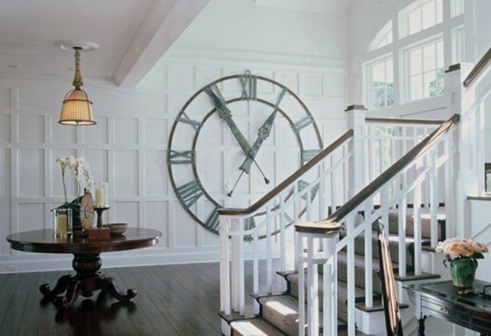 grandes horloges murales décoratives