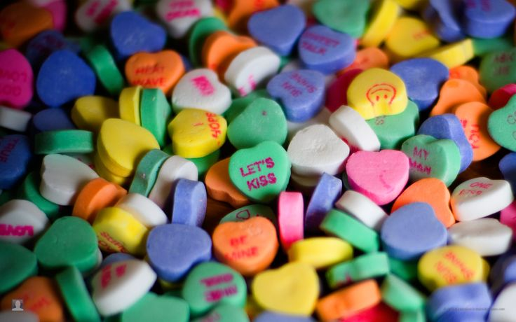 Always loved candy hearts <3