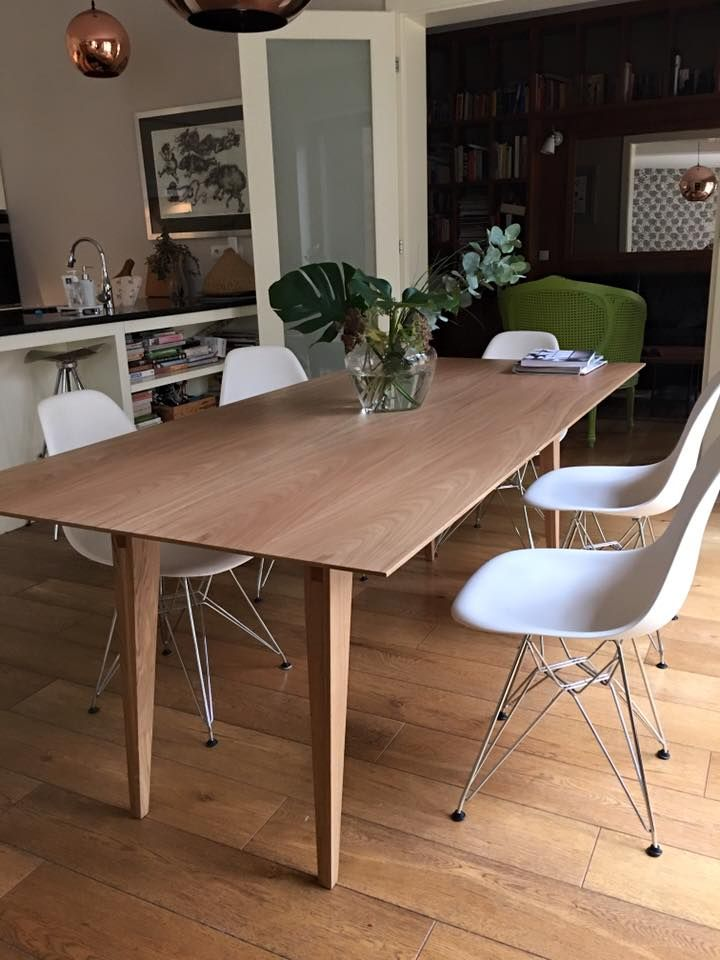 Tamaza Oak, design Piotr Grzybowski, stfurniture.com #oaktable #modernfurniture