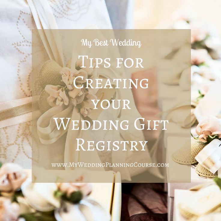Tips For Wedding Gift Registry : wedding gift registry wedding gift registry wedding gifts tips wedding ...