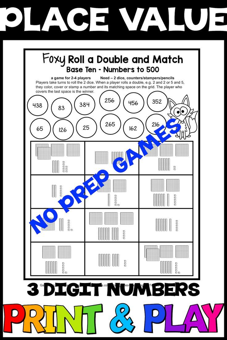 Place Value Games For Numbers To 999 22 No Prep Games For Place Value 3 Digit Numbers Ideal For A Place Value Place Values Tens And Ones Place Value Games [ 1103 x 736 Pixel ]