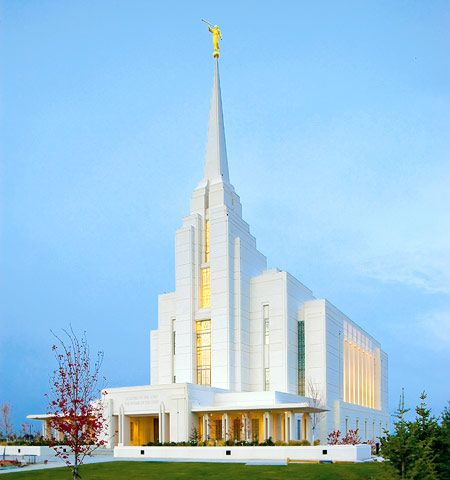 Rexburg Idaho Temple. #LdsTemple