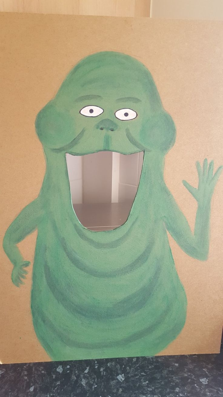 Slimer from Ghostbusters Game for kids party