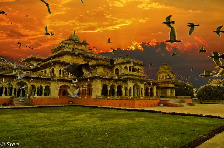Albert Hall Museum , Jaipur by Sreekumar Mahadevan Pillai ...