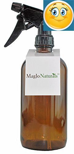 #science Our 16 oz #glass spray bottle is perfect for mixing your own essential or fragrance oils. It fits nicely in your hand, and features a trigger sprayer wi...