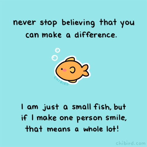 Kindness - Sometimes, just a smile can mean a whole lot!