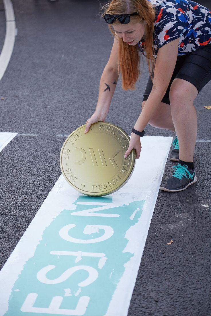Crosswalk in Kolding, Denmark 2016 #crosswalk #Guerilla #Kolding #Designweek #Designweekkolding #Marketing #Citymarketing