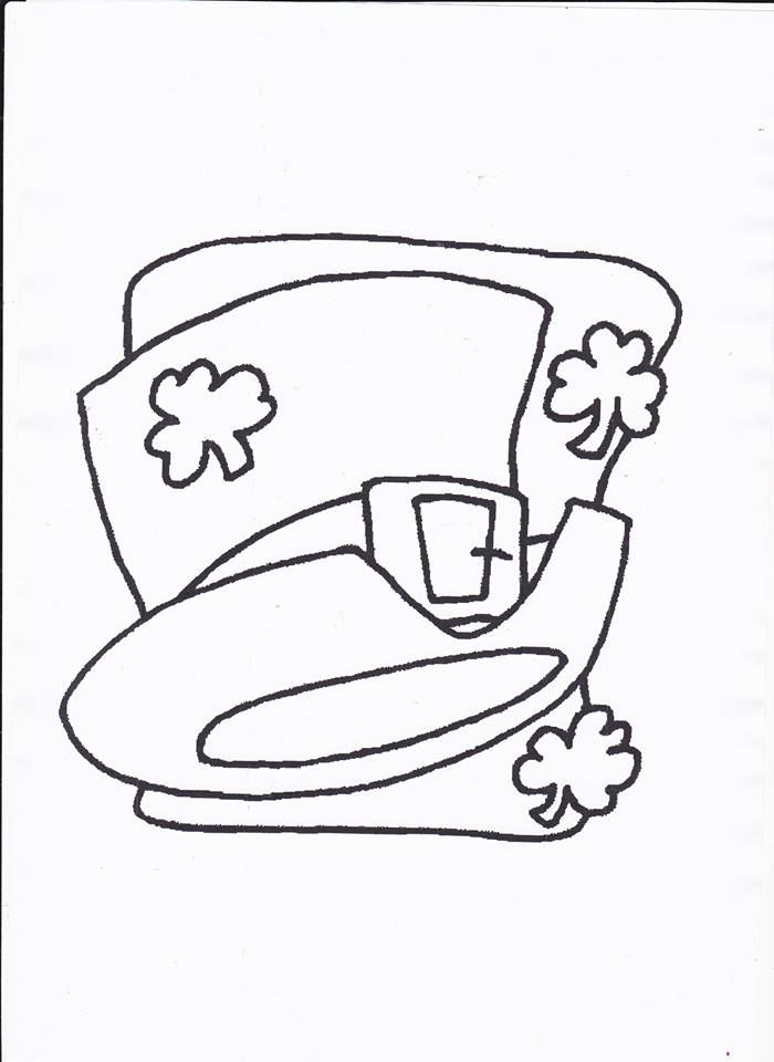 Template for St. Patrick's Day Art. Get it at http://www.ezyshaid.com/