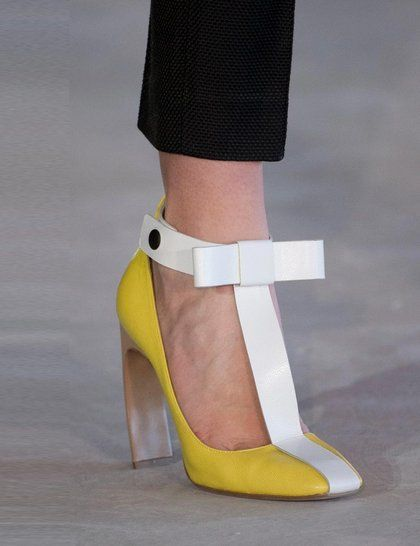 Heels on the runway at LFW Dusty Petals Reporting for Highpoint Shopping Centre live at LFW http://dustypetals.com.au/